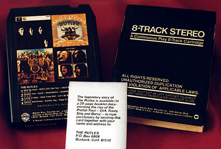 Warner Bros. 8 Track Tape