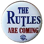 The Rutles Are Coming Button