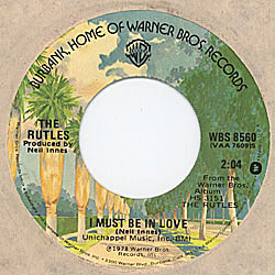 A-Side Label of US Single