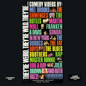 Cover of Comedy Videos Laserdisk