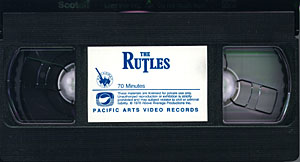 Pacific Arts VHS Tape
