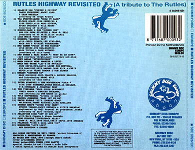 Back of Rutles Highway CD